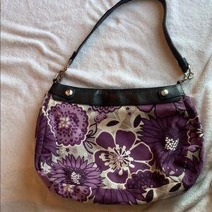 Thirty-one city skirt hobo shoulder bag purple